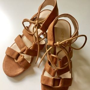 Nine West Lace Up Sandals
